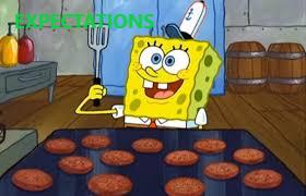 Sponge bob baking